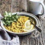 Gentle Morning Kitchari from Power Plates by Gena Hamshaw (vegan and gluten-free)