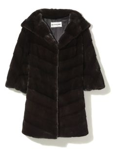 The Social Butterfly Gift Guide - Blackglama coat, $22,500, the Fur Salon at Saks Fifth Avenue.