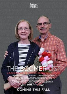 The Boomer List - A documentary about our generation.  http://www.survive55.com/1/post/2014/05/is-beauty-skin-deep.html