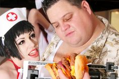 Man suffers heart attack while eating at Heart Attack Grill. This isn't funny. Okay it's kind of funny.