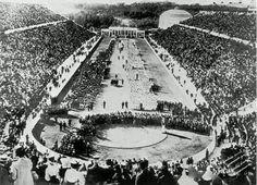 1896年, 第 一 屆 雅 典 奧 運 會 照 片。