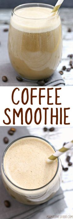 COFFEE BANANA SMOOTHIE - #coffee #smoothie #bananasmoothie #coffeebananasmoothie #breakfast