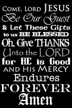 ... not common table prayer free printable more kitchen printables prayers