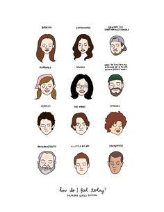 Gilmore chicas humor gráfico Print por roaringsoftly en Etsy                                                                                                                                                                                 Más