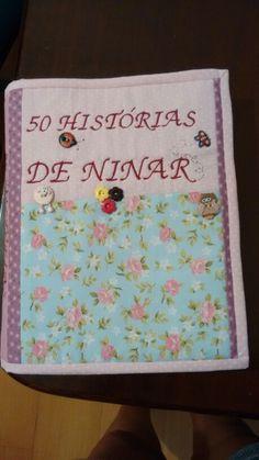 Capa para um livro de historias infantis, comprado no Sebo