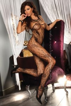 Lenjerie sexy: Bodystocking.Chrysanthe