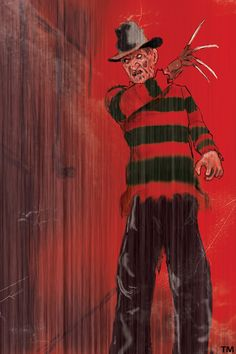 Freddy Krueger by on DeviantArt Robert Englund, All Horror Movies, Scary Movies, Horror Film, Rob Zombie Art, Freddy Krueger Costume, Slasher Movies, Horror House, Horror Icons