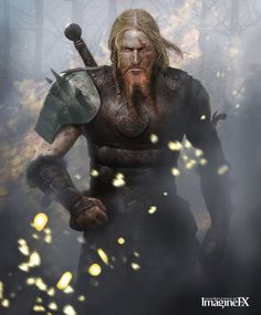 Viking Warrior | Skills: Military tactician, Intelligent, Swordsmanship, Accomplished ...
