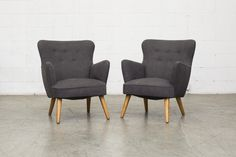 Pair OF THEO RUTH ARMCHAIRS FOR ARTIFORT