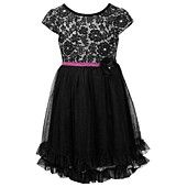 This one is cute with a different belt! Bloome Girls Dress, Girls Lace-to-Tulle Party Dress