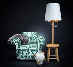 Decorate Your Interior by Installing Architect Floor Lamp : Choosing Best Floor Lamp Ideas : Awesome DIY Floor Lamp Shade Design Ideas With Decorative Green Armchair Gold Lamp Shades, Small Lamp Shades, Shabby Chic Lamp Shades, Rustic Lamp Shades, Modern Lamp Shades, Floor Lamp Shades, Ceiling Lamp Shades, Diy Floor Lamp, Arc Floor Lamps