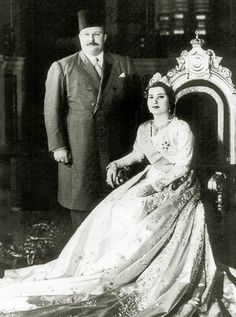 King_Farouk_and_Queen_Nariman_of_Egypt