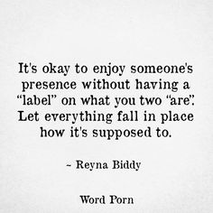 Labels ~ Not needed