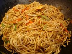 Chinese fried noodles with egg, chicken and vegetables- Chinesische Bratnudeln mit Ei, Hühnerfleisch und Gemüse Recipe: Chinese fried noodles with egg, chicken and vegetables Image no. Noodle Recipes, Egg Recipes, Pasta Recipes, Chicken Recipes, Snack Recipes, Dinner Recipes, Recipe Pasta, Recipe Recipe, Recipe Chicken