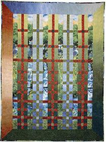 Quilt Inspiration: Free pattern day: Lattice and Woven quilts Easy Quilt Patterns Free, Bed Quilt Patterns, Jelly Roll Quilt Patterns, Free Pattern, Skirt Patterns, Blouse Patterns, Quilting Tutorials, Quilting Projects, Quilting Designs