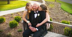 2 Girls Get Special First Dance With Dad Dying From Brain Tumor - Heartwarming Video