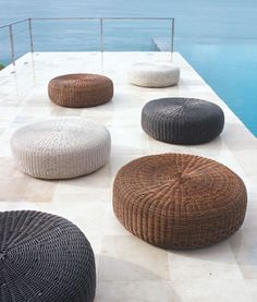 New Products and Styles that are Heating Up this Summer - Connecticut Cottages & Gardens - July 2012 - Connecticut Soft Seating, Outdoor Seating, Outdoor Spaces, Outdoor Living, Outdoor Decor, Summer Kids, Sustainable Living, Home Accessories, Ottoman