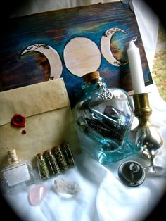Classic Witch Spell Kit Home Protection by EireCrescent on Etsy, $37.99