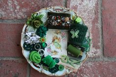 Green Galore  Inspiration Kit  by haileysbobbins on Etsy, $8.00