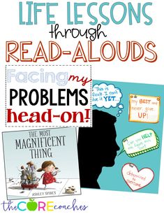 Most Magnificent Thing- interactive reading lesson plans. These activities are perfect to help teach growth mindset and overcoming problems.
