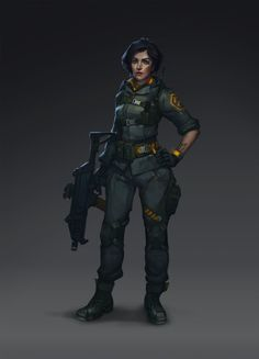 Soldier, Alexandra Forman on ArtStation at https://www.artstation.com/artwork/soldier-a583cbce-1d6f-4547-a51f-5189b0a72cfd