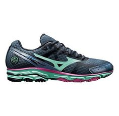 Womens Mizuno Wave Rider 17 Running Shoe. Need new running shoes! An upgraded version of the ones I have now!