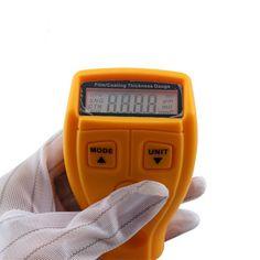 Marca Digital Mini Film Calibro di Spessore del Rivestimento Automobilistico Ad Ultrasuoni Ferro Vernice calibro di Spessore del Tester Larghezza Misura Utensile GM200