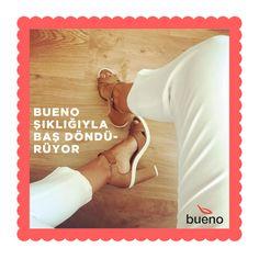 Bueno, kalitesi, şıklığı ve konforuyla baş döndürmeye devam ediyor... 💃 👠 👡  #buenoshoes #sandalet