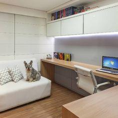 Home Office - decoração e dicas para trabalhar em casa ~ Pimenta Planejados