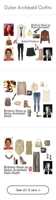 """""""Dylan Archibald Outfits"""" by weedevil93 on Polyvore featuring Vince, Loeffler Randall, Belstaff, D&G, Chanel, Burberry, Somedays Lovin, Monsoon, Paige Denim and Steve Madden"""