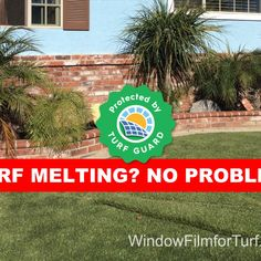 Turf Guard anti-reflective window film is a perfect way to stop your window from concentrating the sunlight and reflecting it back onto your artificial turf or grass. Instead of concentrating the sunlight, these exterior window films help reduce the amount of reflection and break up the sunlight into multiple directions. Stop window reflection from melting with Turf Guard Window Film for artificial grasss turf ot stop reflection from killing lawn and plants. Window Reflection, Traditional Windows, Energy Efficient Windows, Window Types, Screen Film, Window Films, Artificial Turf, Vinyl Siding, Natural Light