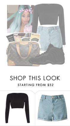 """""""💘"""" by annecr0wley ❤ liked on Polyvore featuring River Island, Miss Selfridge and NIKE"""