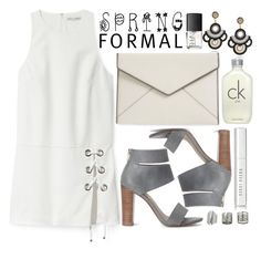 """Spring Formal"" by fattie-zara ❤ liked on Polyvore featuring Rebecca Minkoff, Splendid, NARS Cosmetics, Calvin Klein, Bobbi Brown Cosmetics, Topshop and springformal"