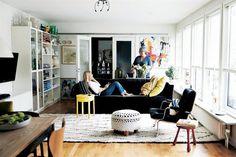 Mia's lovely home, the living room | IKEA-family magazine