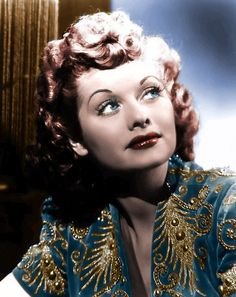 Lucy in the 1940's - Colorized by Lucy_Fan, via Flickr