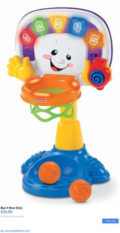 Shop for Baby Learning Toys in Baby & Toddler Toys. Buy products such as Fisher-Price Laugh & Learn Smart Stages Puppy with Songs & Sounds at Walmart and save. Educational Toys For Preschoolers, Educational Toys For Kids, Fisher Price Basketball Hoop, Basketball Baby, Basketball Shoes, Brinquedos Fisher Price, Toddler Toys, Kids Toys, Fisher Price Baby Toys