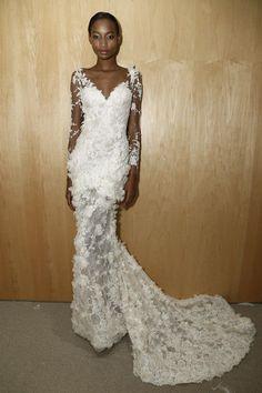 Trendy Wedding Dresses  :    floral embellished wedding dress  - #Dress https://youfashion.net/wedding/dress/trendy-wedding-dresses-floral-embellished-wedding-dress/