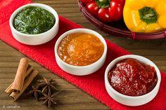 Geleia de pimentão e especiarias