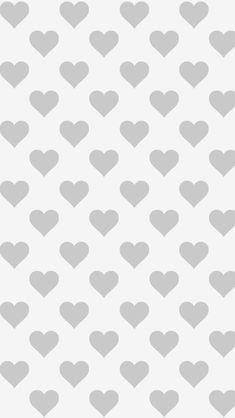 モノクロハートiPhone壁紙 iPhone 7/7 PLUS/6/6PLUS/6S/ 6S PLUS/SE Wallpaper Background