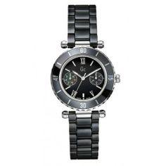 Gc – Montre Gc femme bracelet céramique noir fond noir – Femme | Your #1 Source for Watches and Accessories