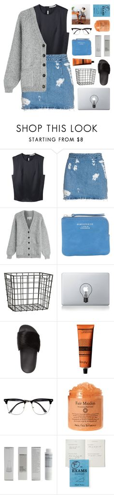 """""""~she can hardly breathe without you"""" by emmas-fashion-diary ❤ liked on Polyvore featuring Acne Studios, Maison Margiela, H&M, Vinyl Revolution, Givenchy, Aesop, River Island, Korres and np"""