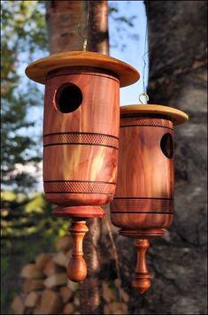 Red Cedar Birdhouses 1