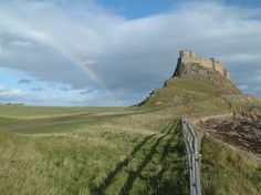 Lindisfarne, also called Holy Island, is a tidal island off the northeast coast of England. Home to a population of less than 200, Lindisfarne is connected to the mainland by a causeway that is cut off twice a day by the tides.