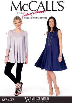 Loose Fit Pullover Top Pattern Flared Pullover Dress by blue510