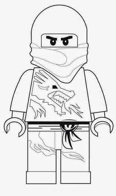 das-creativchen: Schultüte Lego Ninjago Vorlagen + Schlange