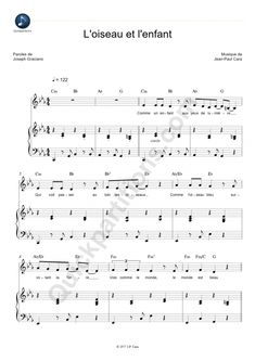 Partition Piano L'oiseau et l'enfant – Kids United Piano sheet music The Bird and the Child – Kids United Partition Flute A Bec, Accord Piano, Kid United, Kalimba, Trombone, Piano Sheet Music, Music Lessons, Happy Kids, Music Notes