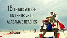 The most common route to the Alabama coast is to drive straight down the center of the state along Interstate 65, then turn onto Alabama Highway 59 at Bay Minette. What are your favorite landmarks on this route?