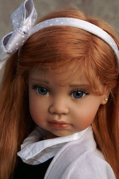 *AUDREY ~ by: Angela Sutter, Porcelain doll.