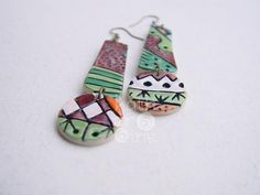 Nambi Collection earrings 3. $19.00, via Etsy.