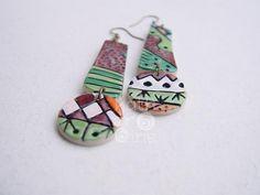 Nambi Collection earrings 3. $19.00, via Etsy.